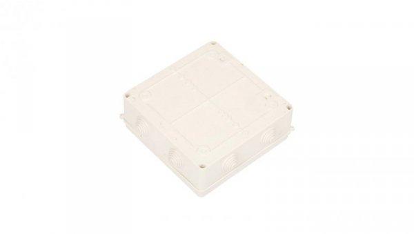 Puszka n/t hermetyczna pusta 196x196x78mm IP55 biała PK-8 0231-00