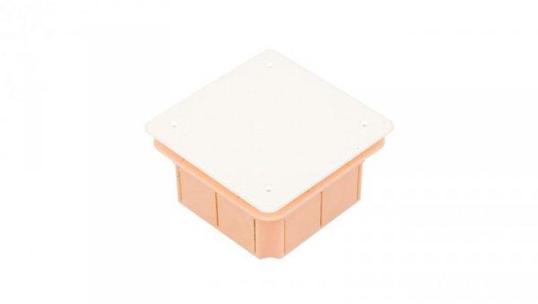 Puszka podtynkowa 96x96x62mm pomarańczowa Pp/t 3 11.3