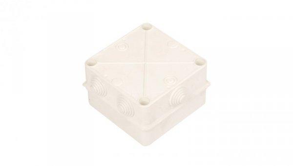 Puszka n/t hermetyczna pusta 135x135x85mm IP55 biała PK-5 0252-00