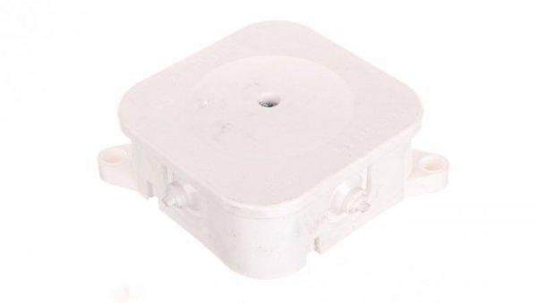 Puszka odgałęźna z zaciskami 5-torowa dla Cu do 2.5mm2 IP42 biała 84x84x40 0213-00