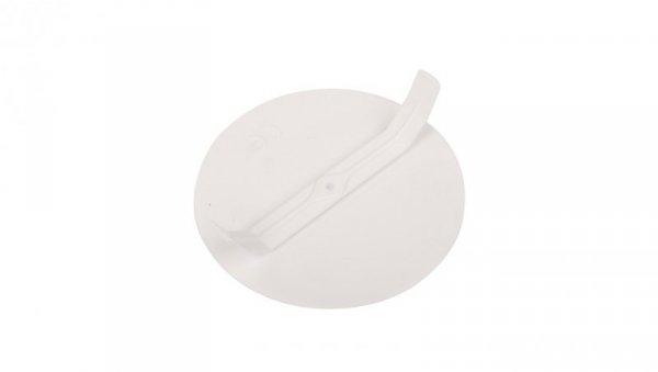Pokrywa puszki 70-80mm okrągła biała 3313-00