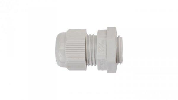 Dławnica kablowa poliamidowa M16 IP65 AKM 16 jasnoszara 3600209