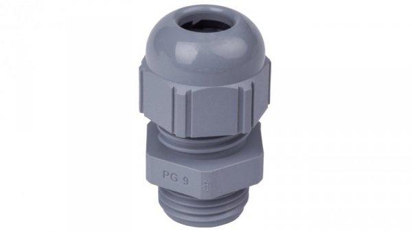 Dławnica kablowa poliamidowa PG9 IP68 SKINTOP ST 9 ciemnoszara 53015010