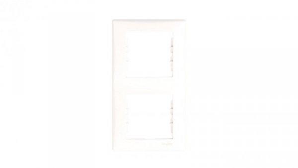 Sedna Ramka podwójna pionowa biała SDN5801121