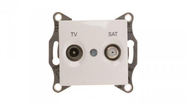 Sedna Gniazdo antenowe TV/SAT końcowe 1dB białe SDN3401621