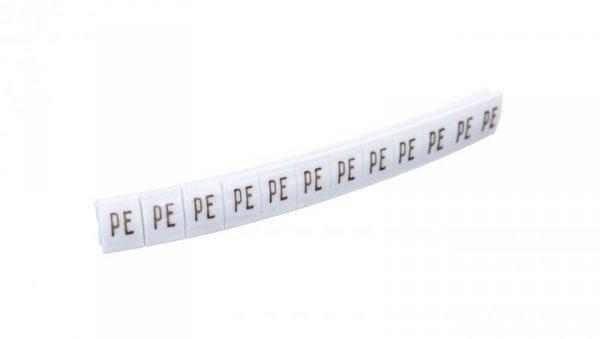 Oznacznik biały symbole DK 2/Z5 PE 89303006 /100szt./