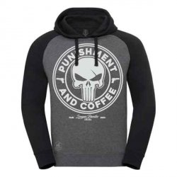 BLUZA PUNISHER AND COFFE