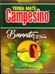 Yerba Mate Campesino Burrito Green Tea Verde 500g