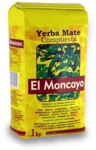 Yerba mate El Moncayo compuesta 1kg Mocno ziołowa