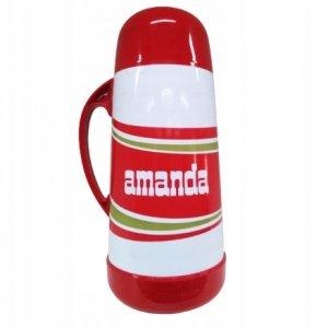 TERMOS TERMO MATE AMANDA RED 1L - Do Yerba Mate