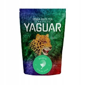Yerba Mate Yaguar Silueta Fitness 0,5kg 500g FIT