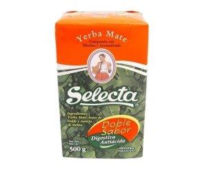 Yerba Mate Selecta Doble Sabor - 500g menta y boldo