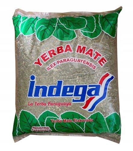 Yerba Mate Indega Elaborada CLASICA 1kg