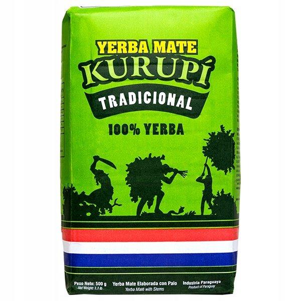 Yerba Mate Kurupi Tradicional Elaborada 250 g
