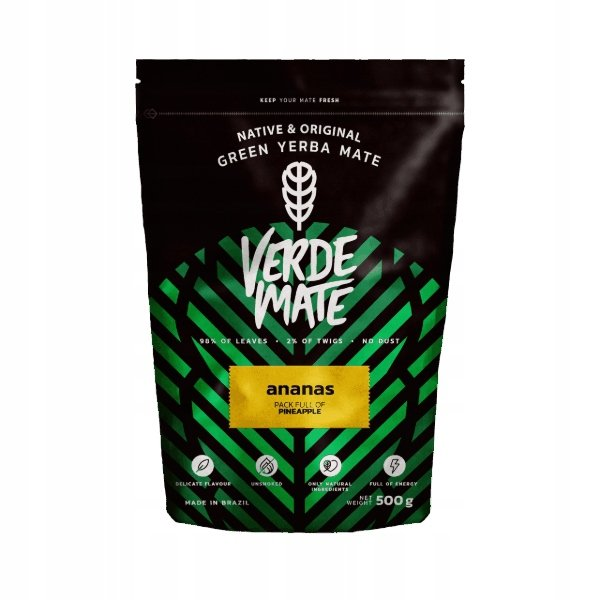 Yerba Verde Mate Green Ananas Jabłko 500g