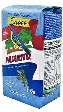 Yerba mate Pajarito SUAVE 500g Subtelny Paragwaj