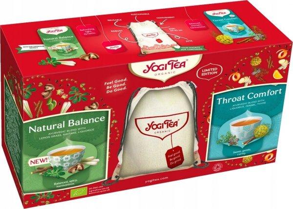 Zestaw Prezentowy - 2 x herbata Yogi TEA + PLECAK!