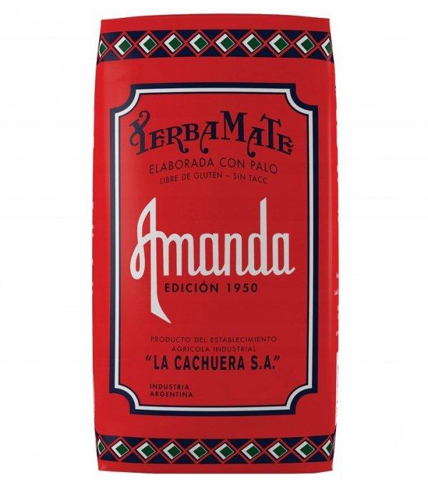Yerba Mate Amanda Retro 500g Vintage Edicion 1950
