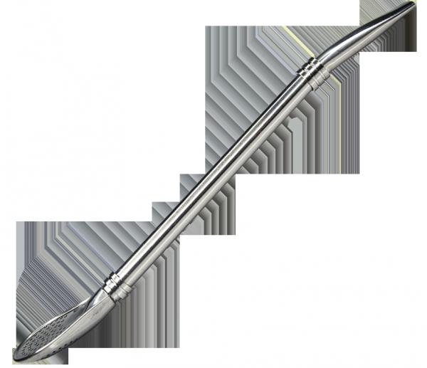 Bombilla Anillo Silver 19 cm Rozkręcana + Wycior