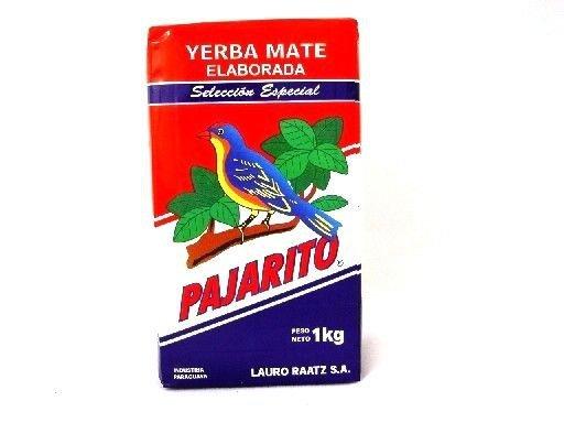 yerba mate pajarito seleccion especial 1kg elaborada con palo