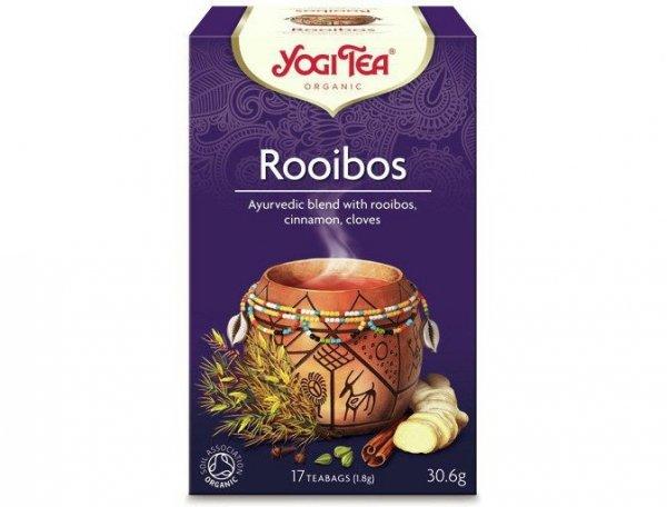 Herbata Wykwintny Rooibos BIO (17 x 1,8g) - Yogi Tea
