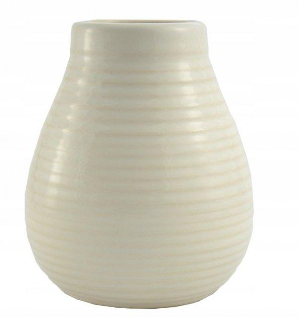 Matero Ceramiczne IVORY Kość Słoniowa - Yerba Mate