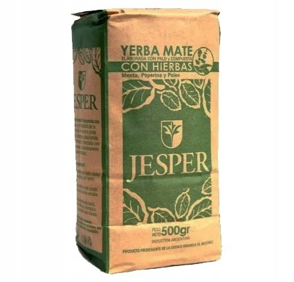 Yerba Mate Jesper Hierbas Serranas 500g Craftowa