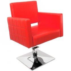 HAIR SYSTEM FOTEL FRYZJERSKI Q-008F RED