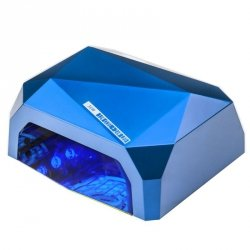 LAMPA DIAMOND 2w1 UV LED+CCFL  36W TIMER + SENSOR  BLUE