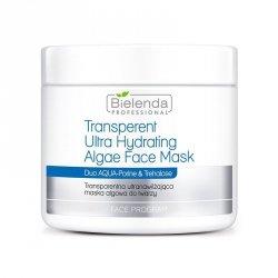 BIELENDA Transparentna ultranawilżająca maska algowa do twarzy 190 g
