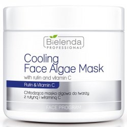 BIELENDA Chłodząca maska algowa z rutyną i witaminą C 190 g