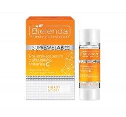 BIELENDA SUPREMELAB Energy Boost Rozjaśniające serum ze stabilną Witaminą C 15 ml