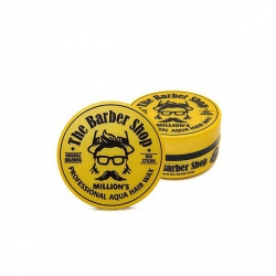 THE BARBER SHOP AQUA HAIR WAX MILLION'S POMADA WODNA DO WŁOSÓW Z DROBINKAMI 150ML