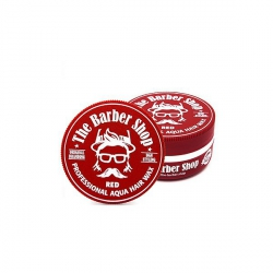 THE BARBER SHOP AQUA HAIR WAX RED POMADA WODNA DO WŁOSÓW WODA KOLOŃSKA 150ML