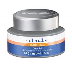 IBD HARD GEL ŻEL JEDNOFAZOWY PRZEŻROCZYSTY UV CLEAR 56G