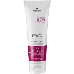 SCHWARZKOPF BC COLOR FREEZE THERMO-PROTECT CREAM 125ML