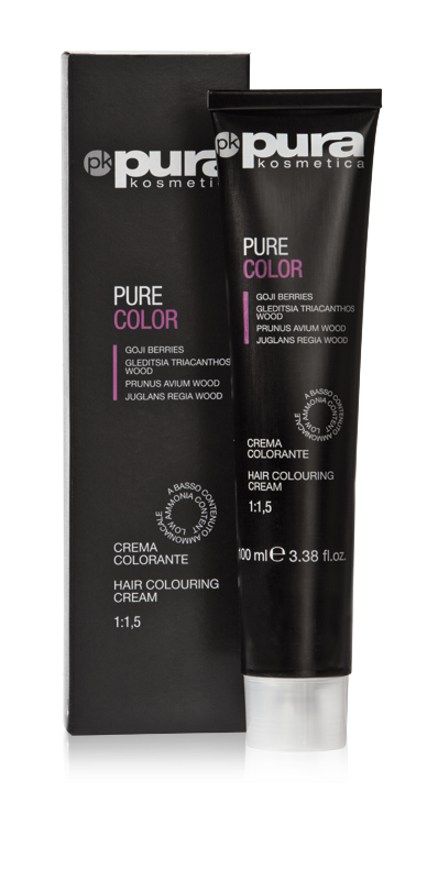 PURA PURE COLOR FARBA DO WŁOSÓW 100ML 7/33 Medium Intensive Golden Blond