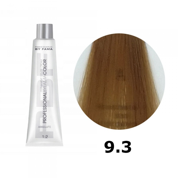 BY FAMA COLOR FARBA DO WŁOSÓW 80ML 9.3