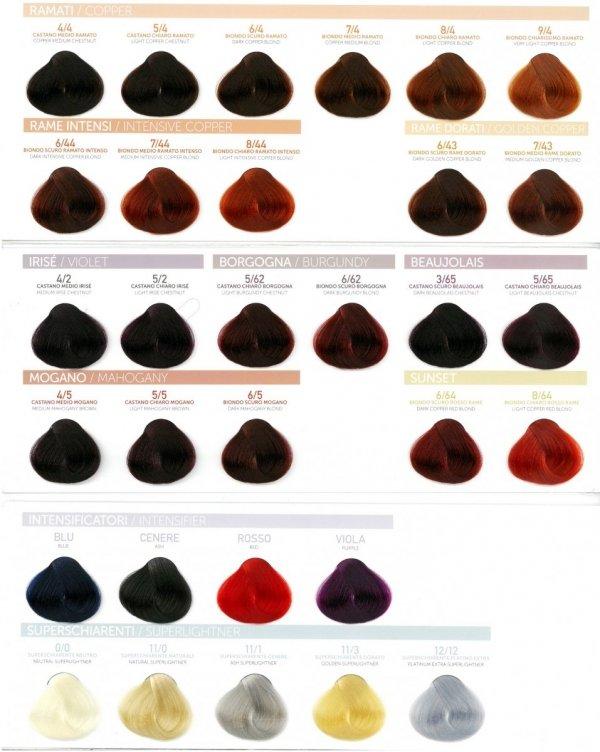 PURA PURE COLOR FARBA DO WŁOSÓW 100ML 4/6 Medium Red Chestnut