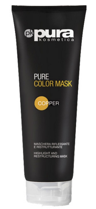 PURA COLOR MASK MASKA DO WŁOSÓW COPPER 250ML