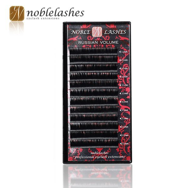 NOBLE LASHES RUSSIAN VOLUME D 0,1 10 MM