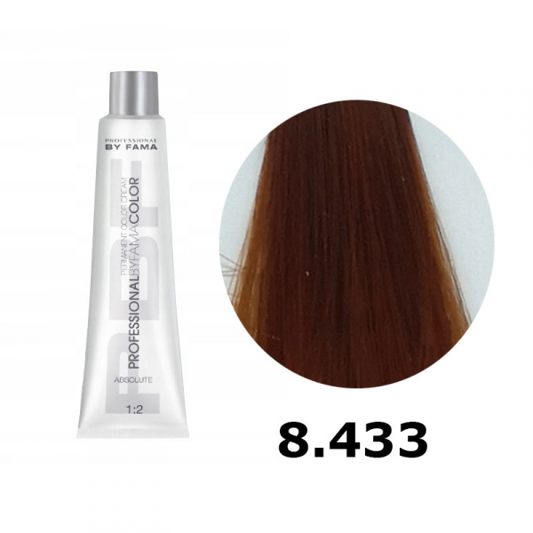 BY FAMA COLOR FARBA DO WŁOSÓW 80ML 8.433