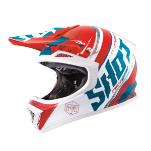 KASK SHOT FURIOUS GENESIS RED/TURQUOISE MD