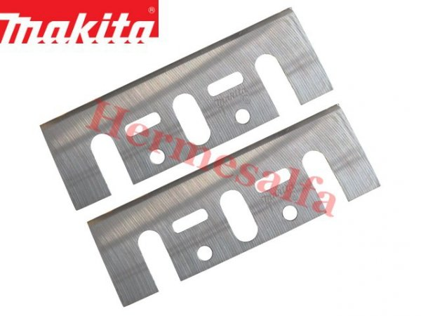NOŻE DO STRUGA Z PŁYTKAMI 82mm 2szt. MAKITA D-07967