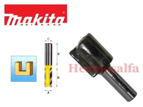 FREZ DO DREWNA PROSTY 12mm MAKITA D-10279 szerokość ostrza 25mm