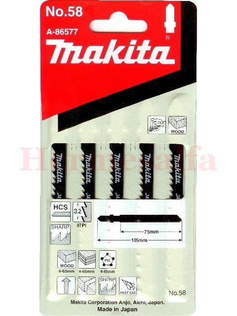 BRZESZCZOTY DO WYRZYNAREK Nr58 HCS 75mm MAKITA A-86577