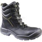 Buty robocze ze skórzany krupon barwiony gładki amagnetyczne S3 SRCkolor czarny rozmiar 45 CALYPS3NO45