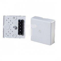 Puszka n/t przyłączeniowa do kuchenek 5x10mm2 80x80x25mm z możliwością montażu na puszce p/t fi60 E180W 83108006