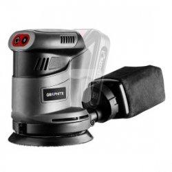 Szlifierka mimośrodowa akumulatorowa 18V Li-lon stopa 115mm Energy+ 58G014
