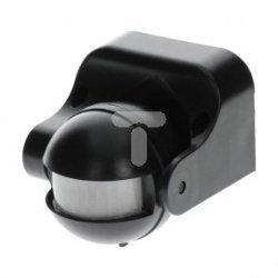 Czujnik ruchu PIR IP44 230V czarny LUX01391